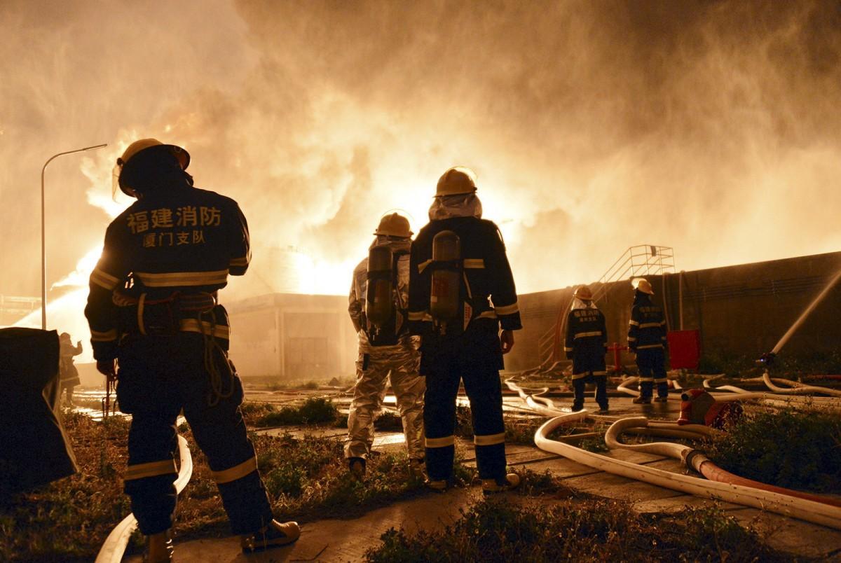 中国安徽省一化工企业发生爆燃 两人遇难9人受伤