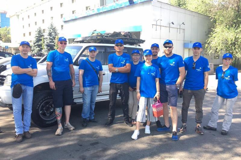 Многодневная конная экспедиция «Киелі Қазақстан» стартовала в Алматы
