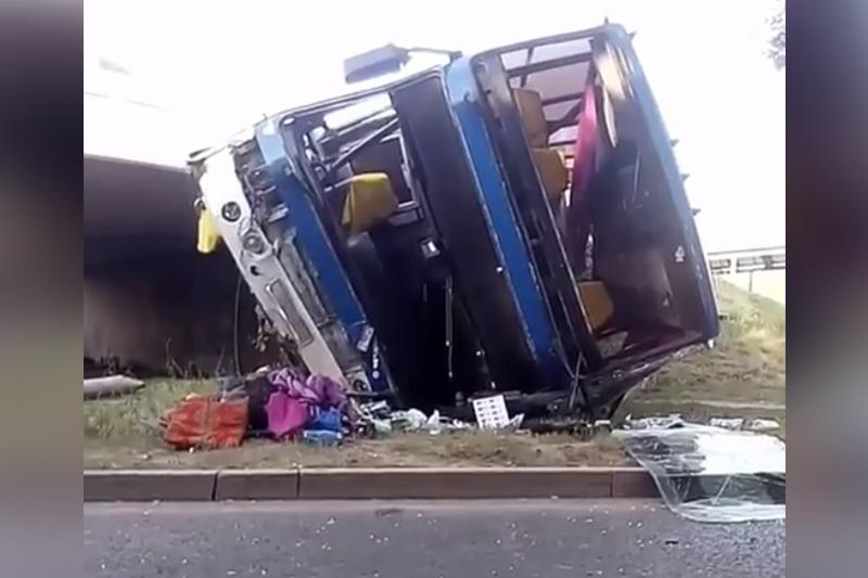 ДТП с автобусом в Алматы: в полиции рассказали возможные причины аварии