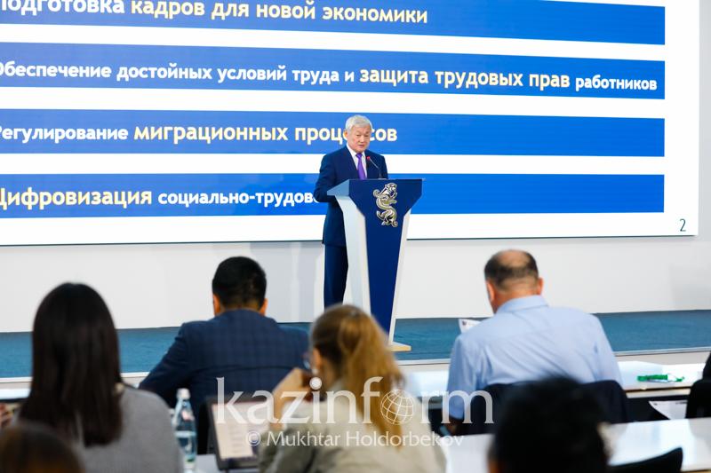 Еңбек министрі Теңіздегі оқиғаға қатысты пікір білдірді