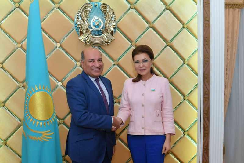 Kazakh Senate Speaker meets EBRD President