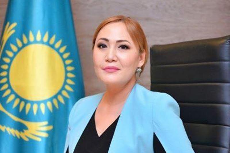 Aıgúl Qapbarova Senat depýtaty retinde ant berdi