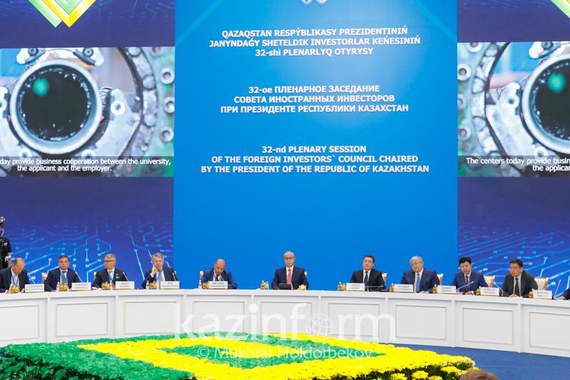 Президент РК призвал иностранных инвесторов активно участвовать в подготовке кадров