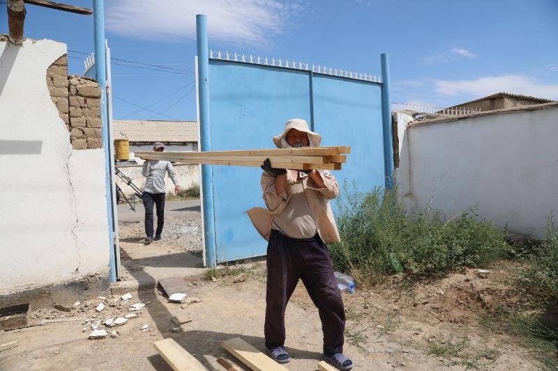 Более 180 домов отремонтировали в Арыси