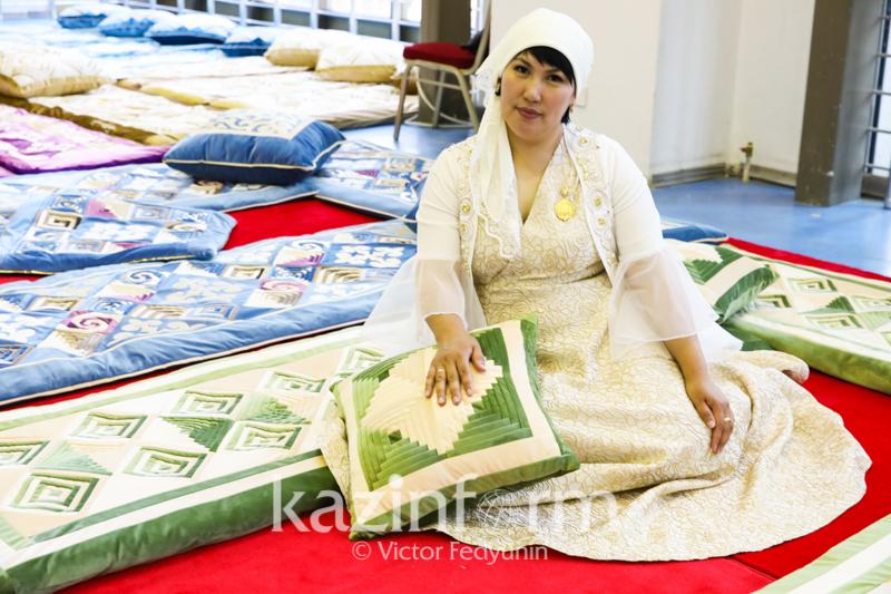 Многодетных матерей со всей страны обучают прикладным искусствам в столице