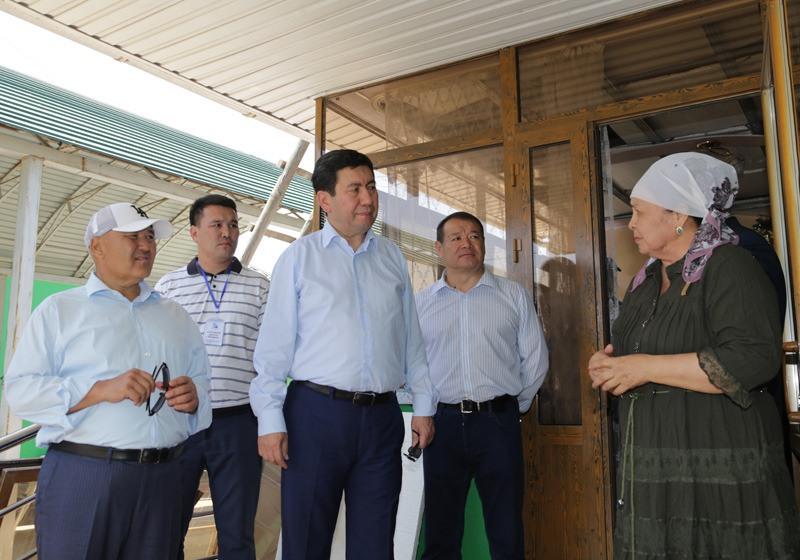 Карагандинская область помогает жителям Арыса