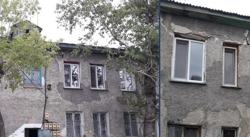 Потолочное покрытие обрушилось в жилом доме в Петропавловске