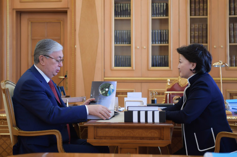 President Tokayev briefed on mid-term plans of Culture Ministry