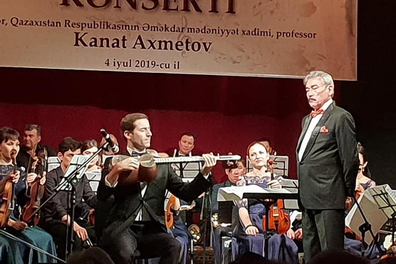 BQO orkestri Ázerbaıjan elinde kontsert qoıdy