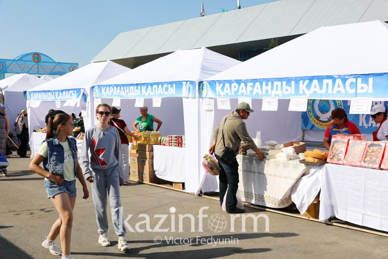 Праздничные ярмарки в столице: что привезли аграрии Карагандинской области