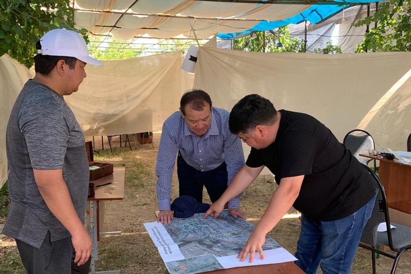 В 271 доме в Арыси проведены восстановительные работы