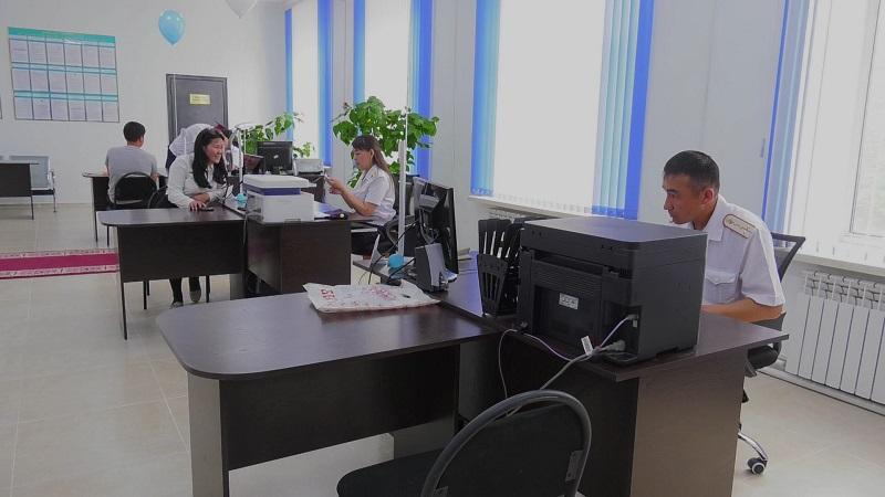 В новом центре будут оказывать госуслуги полицейские Аягозского района ВКО
