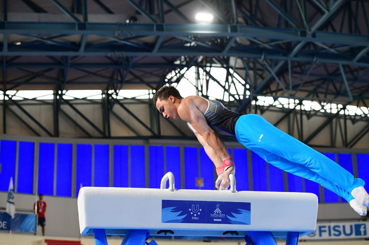 Универсиада-2019: гимнаст Милад Карими финишировал пятым в многоборье