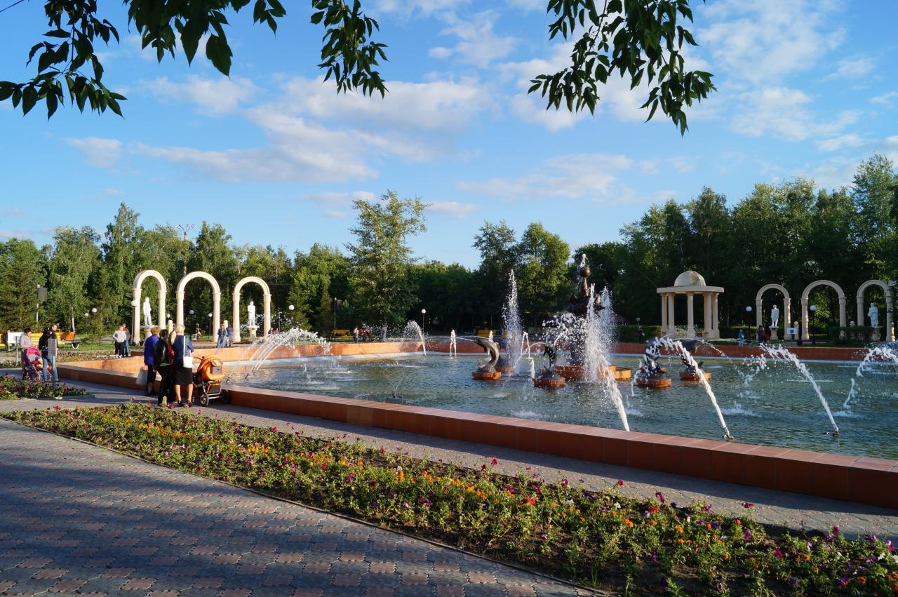Купавшегося в фонтане мужчину наказали в Петропавловске