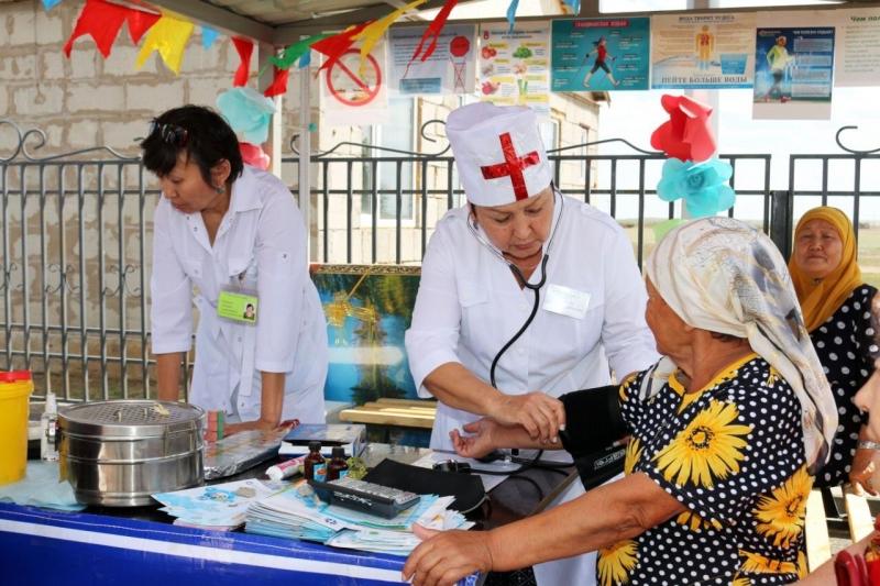 Новую врачебную амбулаторию открыли в Нуринском районе Карагандинской области