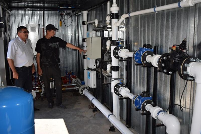 В отдаленном селе Павлодарской области запустили водопровод