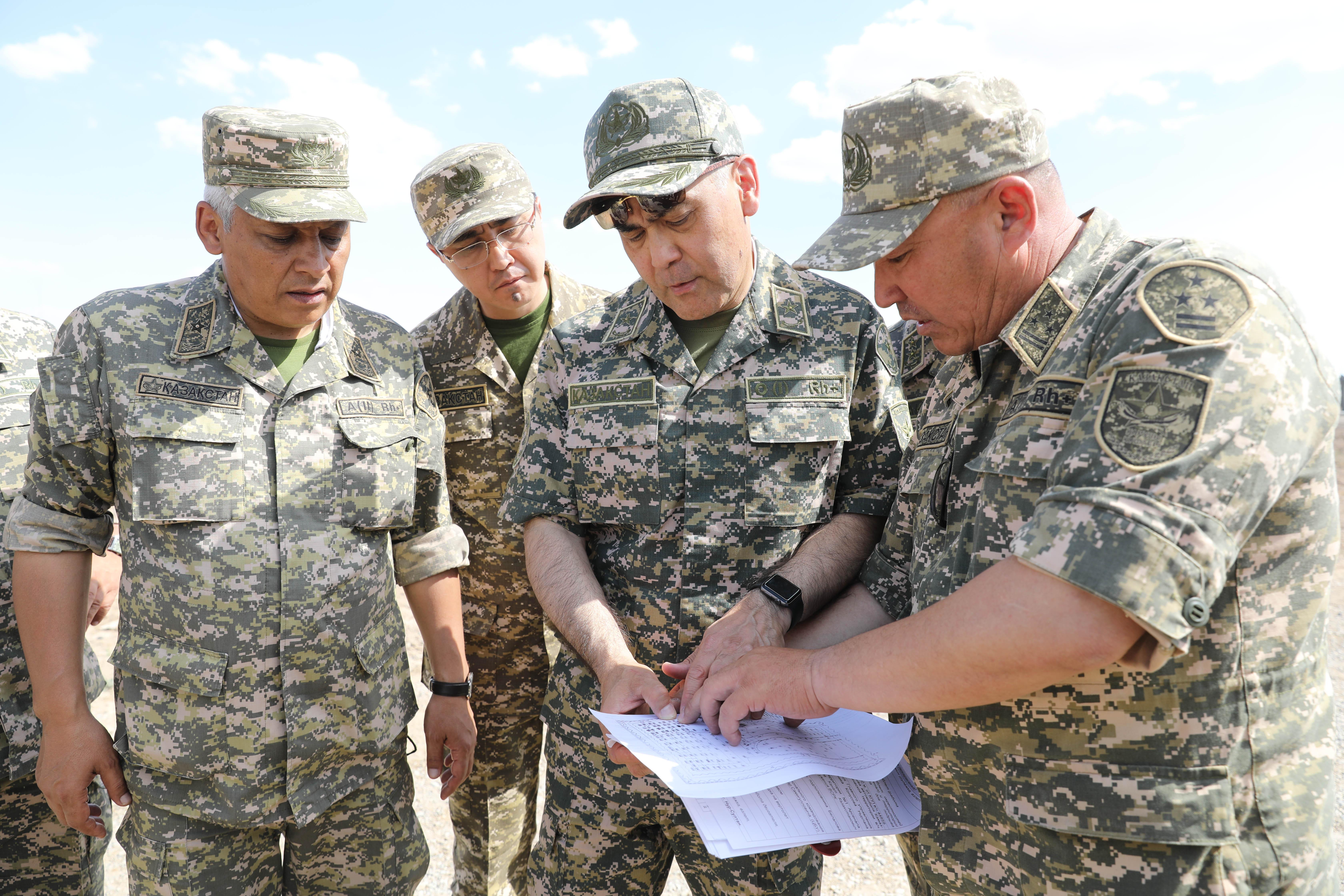 Министр обороны прибыл в Арысь