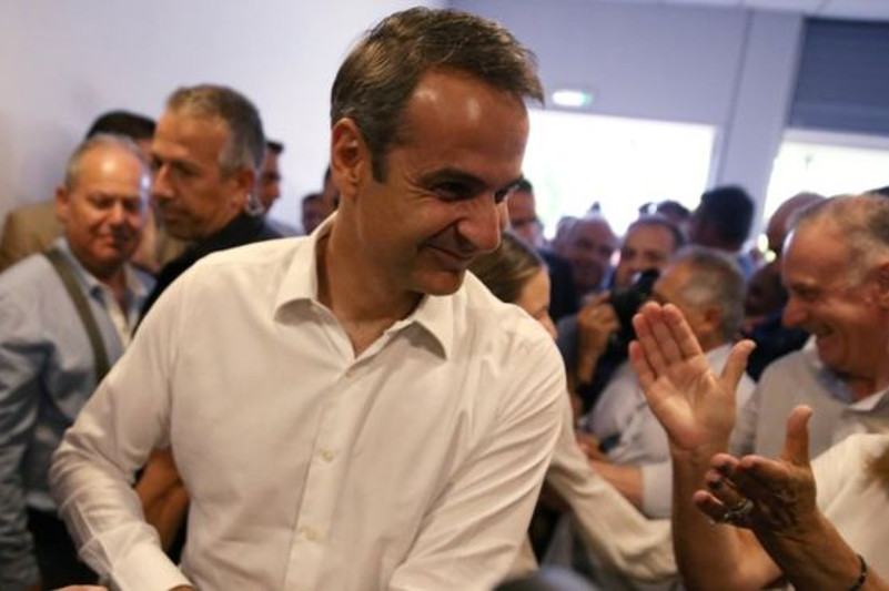 希腊反对党新民主党赢得议会选举