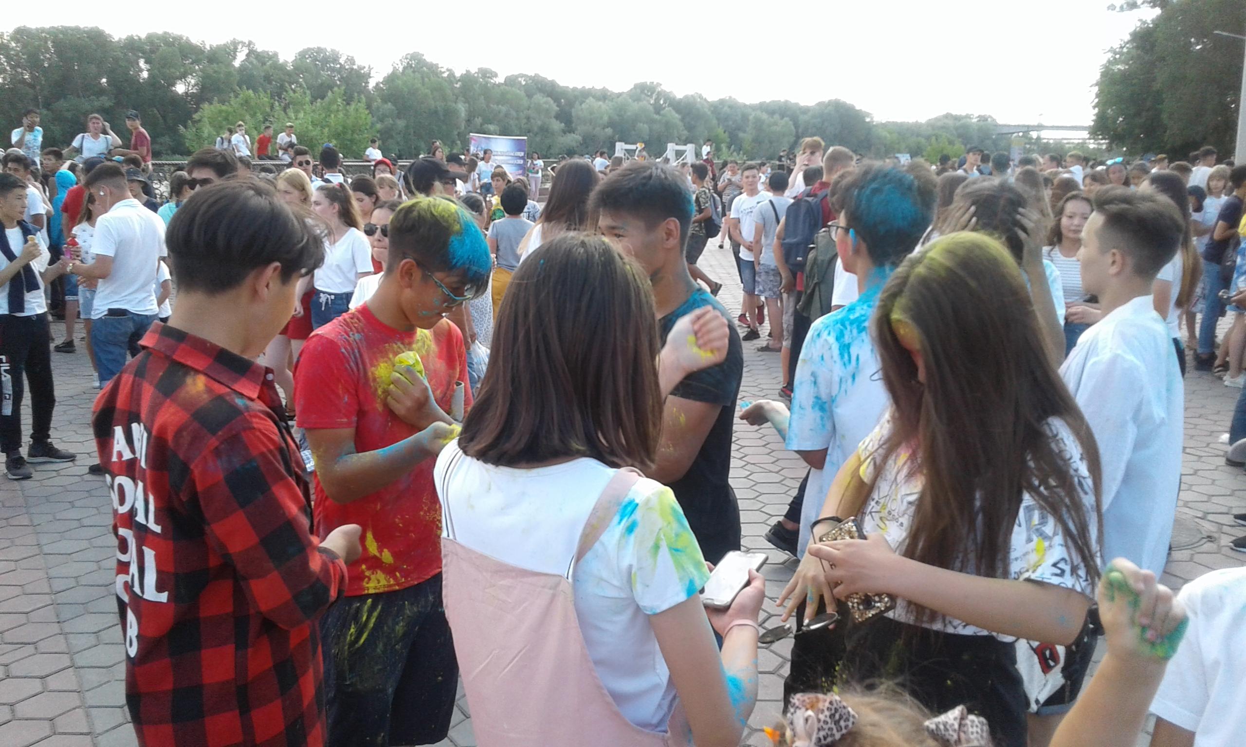 Молодежный фестиваль «Open air - 2019» состоялся в Семее