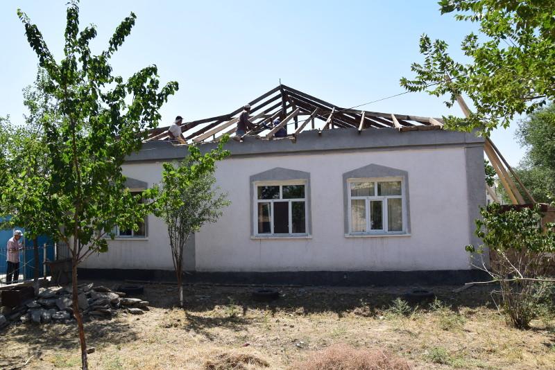 Ремонтные работы проведены в 434 домах Арыси