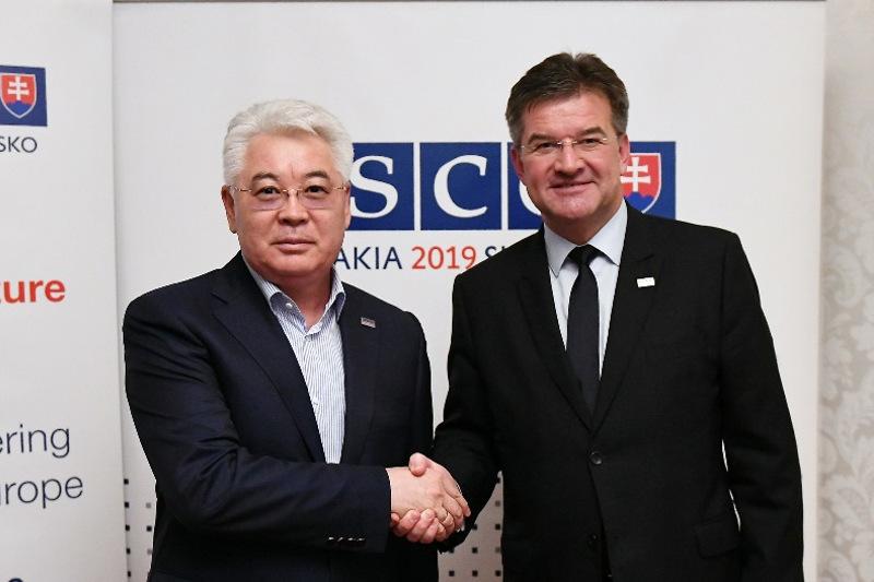 Казахстан и Словакия нацелены на укрепление взаимодействия в рамках ОБСЕ