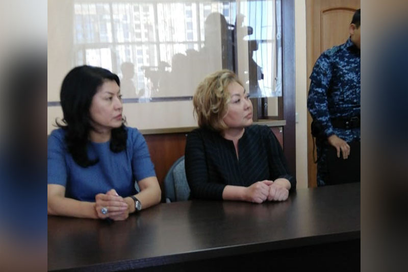 Эльмира Суханбердиева освобождена в зале суда