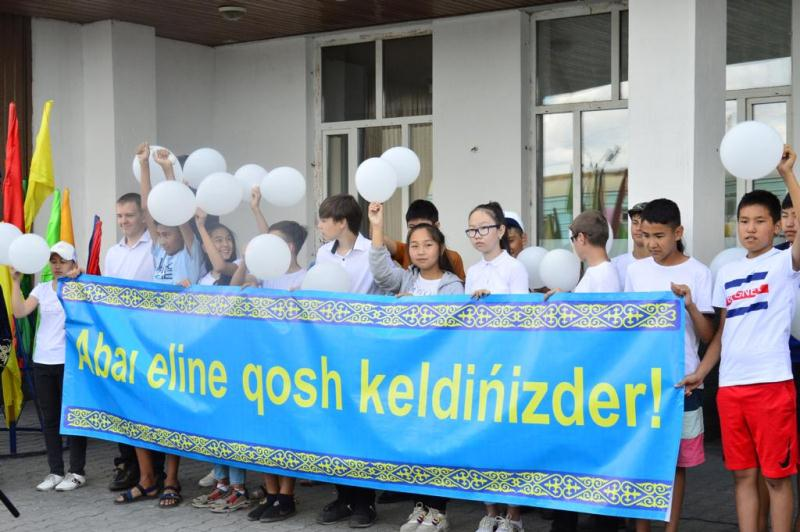 Школьники из Арыси прибыли в Восточный Казахстан