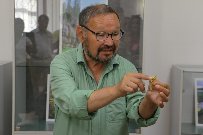Зейнолла Самашев представил новые сенсации из долины Елеке сазы