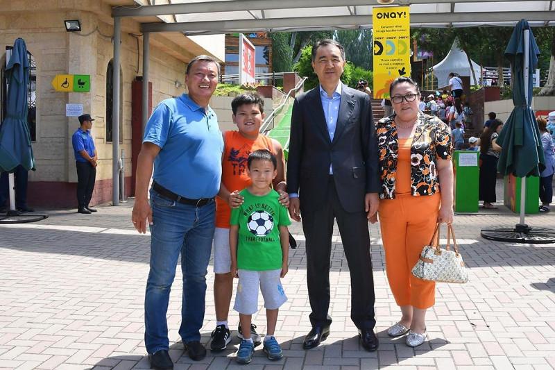 Аким Алматы  отметил необходимость благоустройства зоопарка