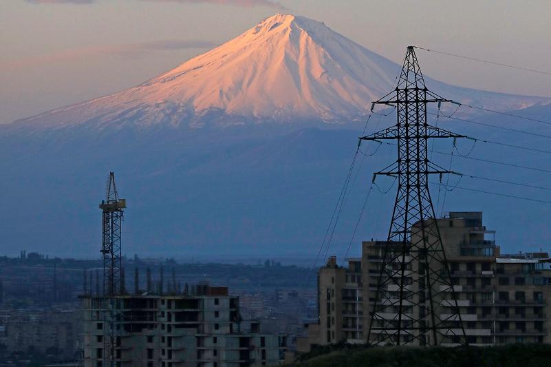 Авария в энергетической системе произошла в Армении