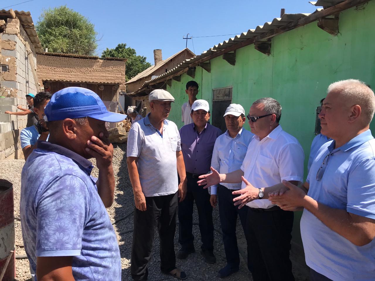 236 жилых домов восстановлены актюбинскими строителями в Арыси