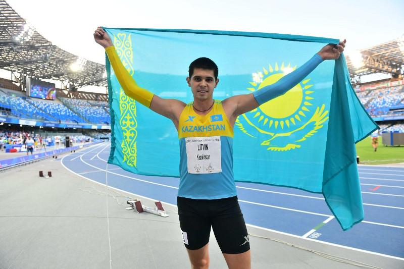 2019大运会:哈萨克斯坦代表团再获一枚银牌