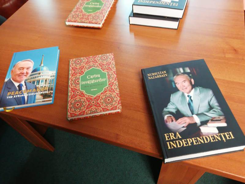 Nazarbayev's book 'The Era of Independence' published in Romanian