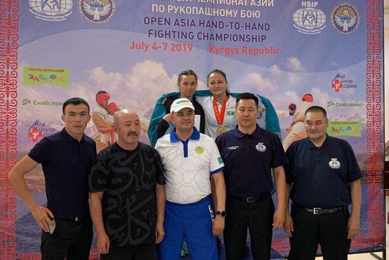 Армейские рукопашники стали чемпионами Азии в Кыргызстане