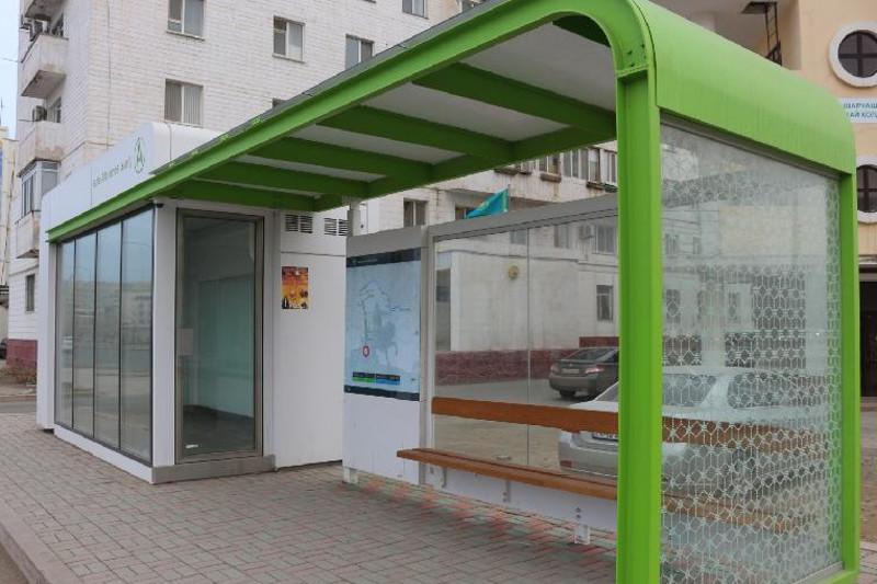 Теплые остановки демонтировали в Петропавловске