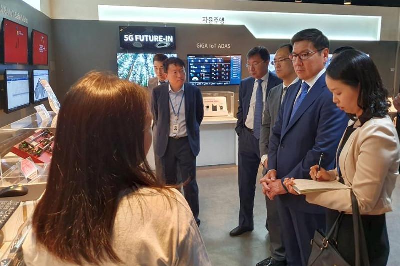 Қазақстан-Корея IT-орталығы аясында бірқатар шаралар қолға алынады - Асқар Жұмағалиев