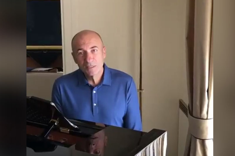 #Abai175: Игорь Крутой принял эстафету от Димаша Кудайбергена