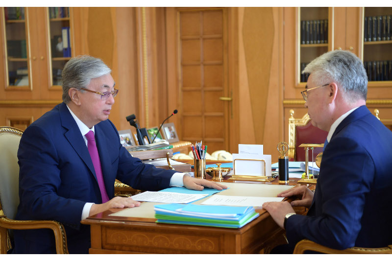 Kazakh President, FM discuss foreign-policy events schedule