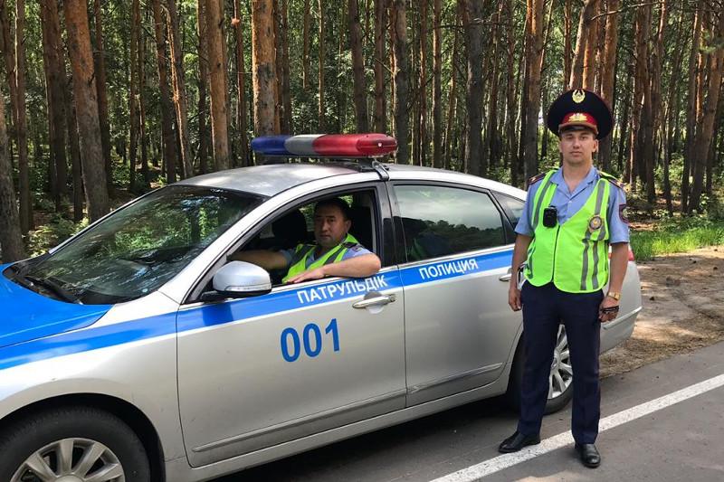 СҚО-да полицейлер есінен танып қалған адамды құтқарып қалды
