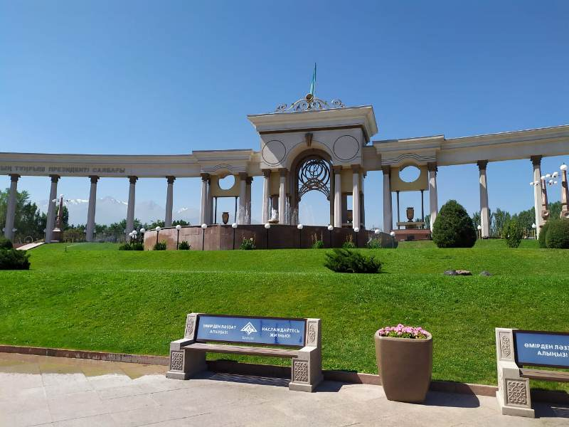 Ремонт в Парке Первого Президента РК: каким будет обновленный фонтан