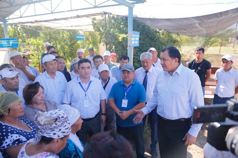 Арысцы поблагодарили жителей Атырауской области за помощь в восстановлении города