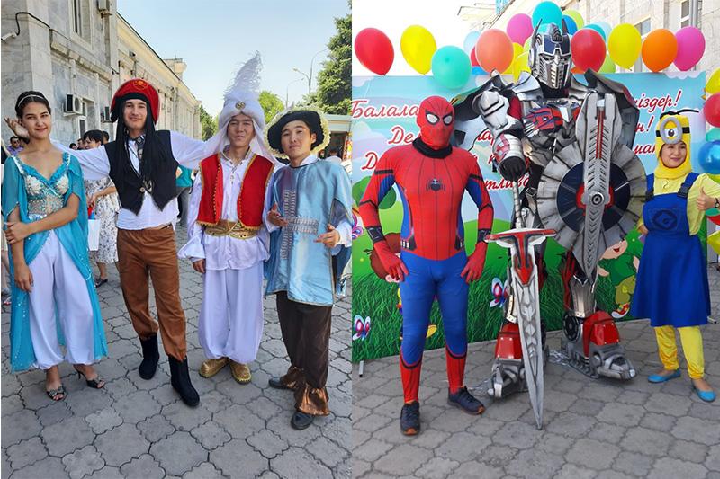 Арыстық оқушылар Алматыға демалуға келді
