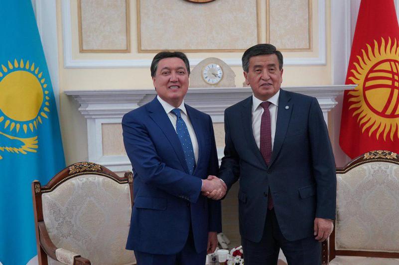 Аскар Мамин принял участие в заседании казахстанско-кыргызского Межправсовета в Бишкеке