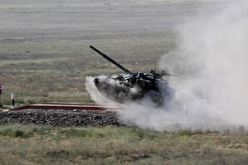 Министр обороны проверил готовность к Армейским международным играм