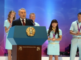 Sporting achievements best way to boost country's image - Kazakh President
