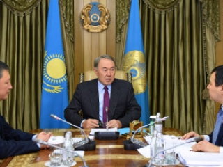 Kazakh President holds meeting with leadership of NCE Atameken