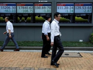Asian stocks fall to six-week lows as bond rout intensifies
