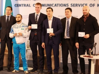 Kazakhstan places Rio Olympics medalists onto new stamps