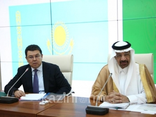 Kazakh PM, Saudi Energy Minister to discuss oil cuts