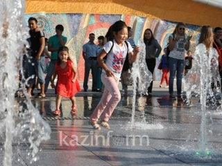 Hot summerlike weather to grip Kazakhstan